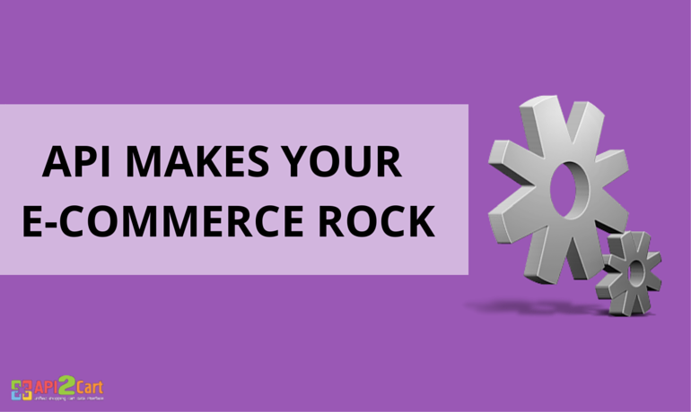 API Makes Your e-Commerce Rock
