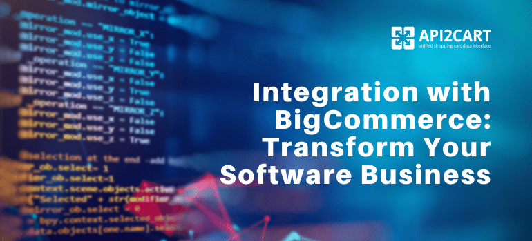 integration with bigcommerce