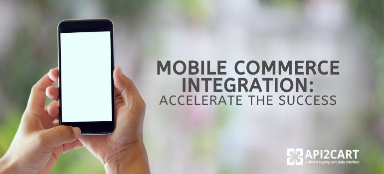 mobile commerce integration