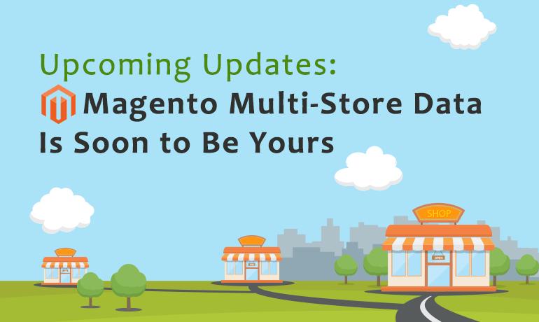 Magento Multi-Store Data