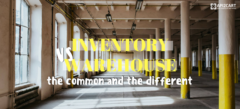 inventory vs warehouse