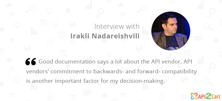 Interview with Irakli Nadareishvili