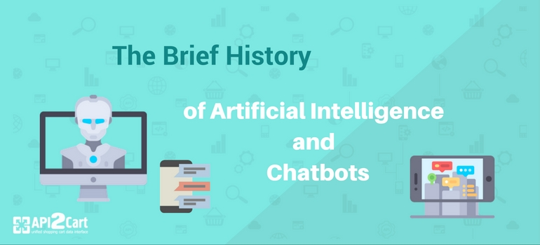 history of AI and chatbots