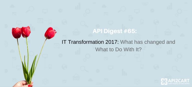 API Digest #65-