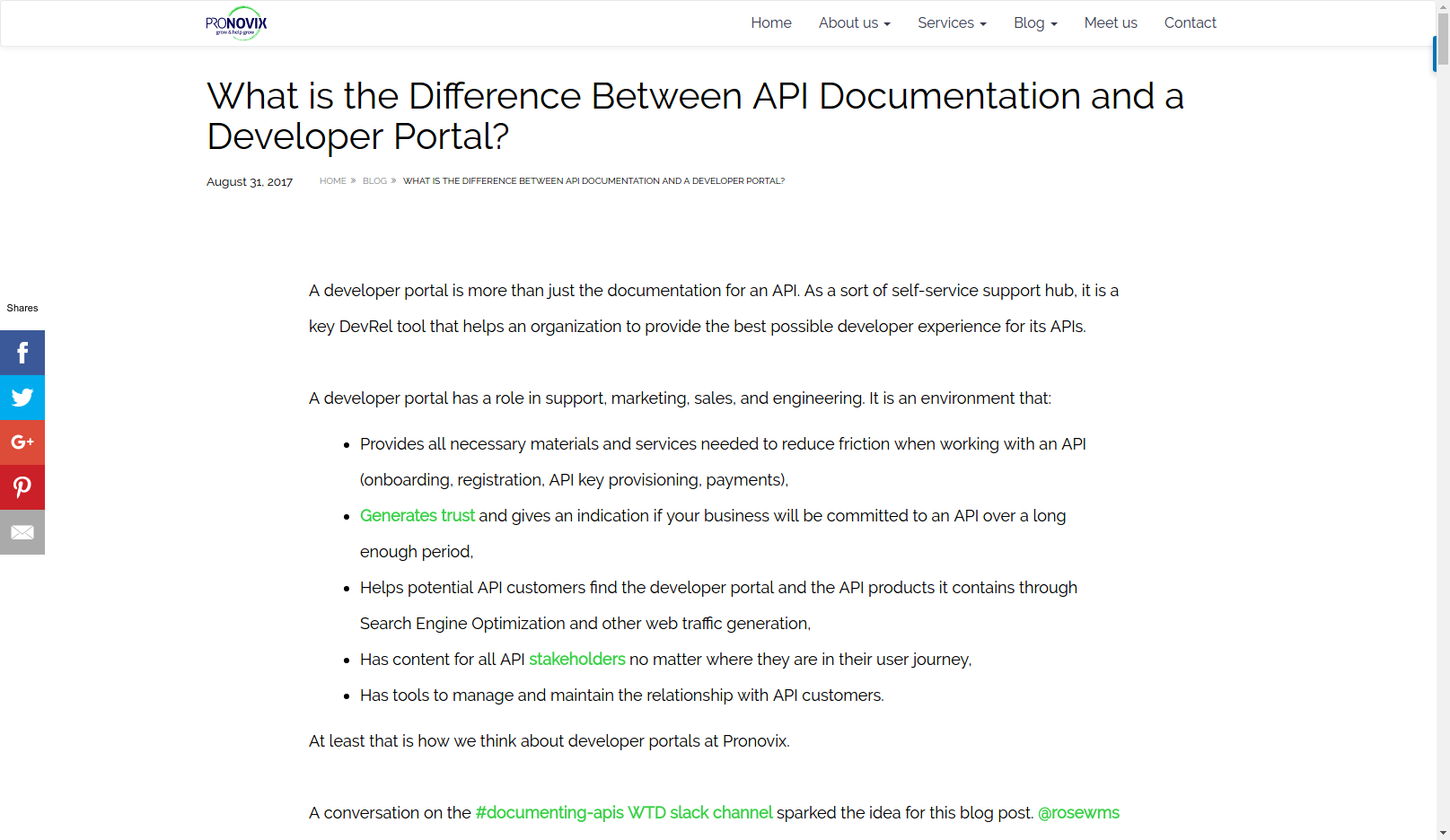 What is the Difference Between API Documentation and a Developer Portal?