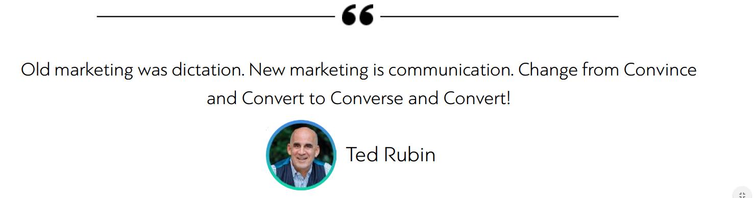 b2b ecommerce marketing quote