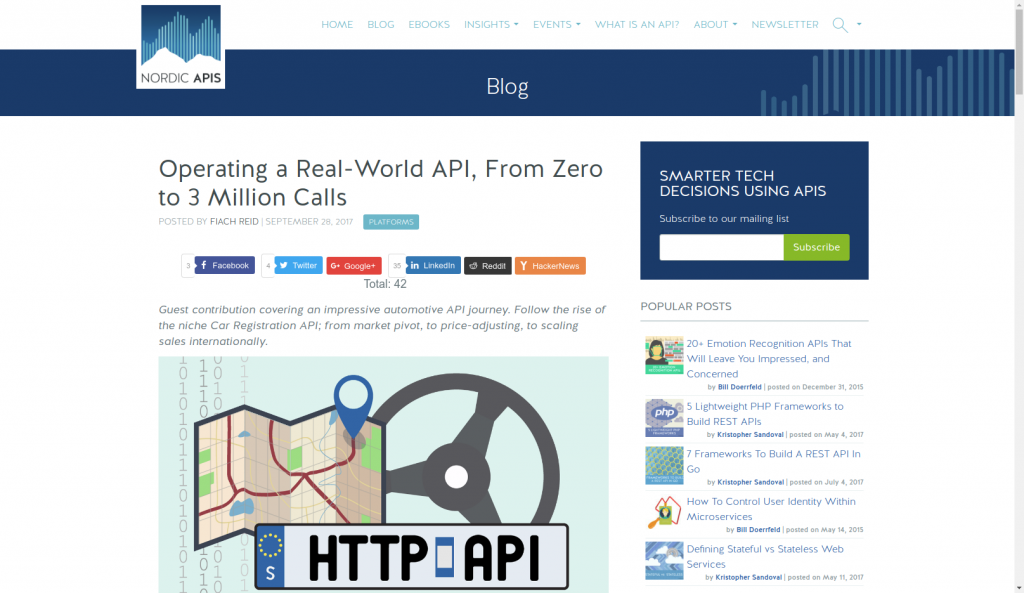 API Digest #80  Operating a Real-World API, From Zero to 3