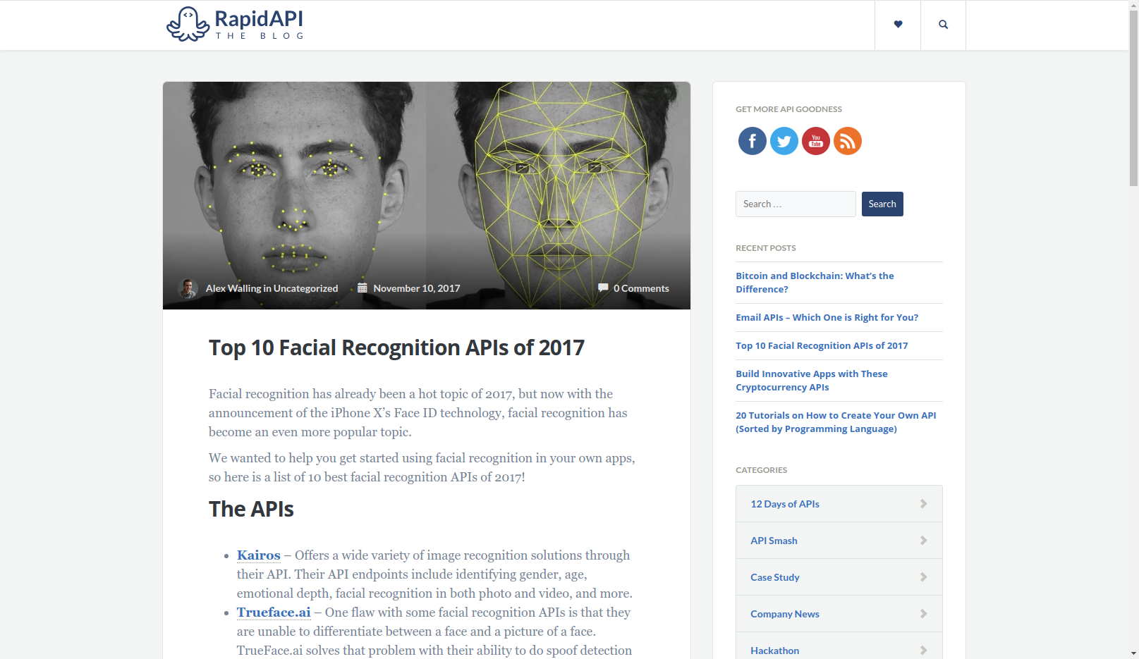 API Digest #84  eCommerce & Facial Recognition APIs, Why to Test And