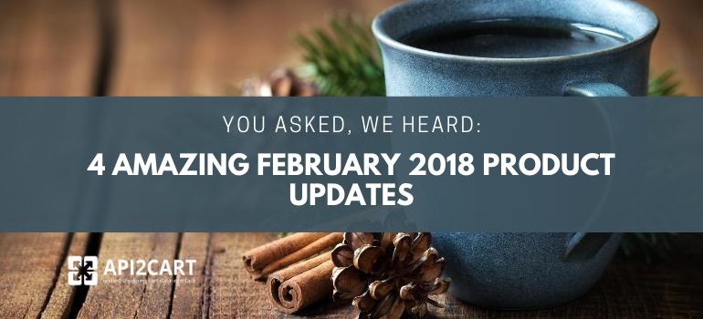 product updates api2cart