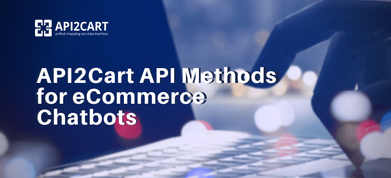 api methods for ecommerce chatbots