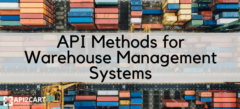 api methods for warehouse