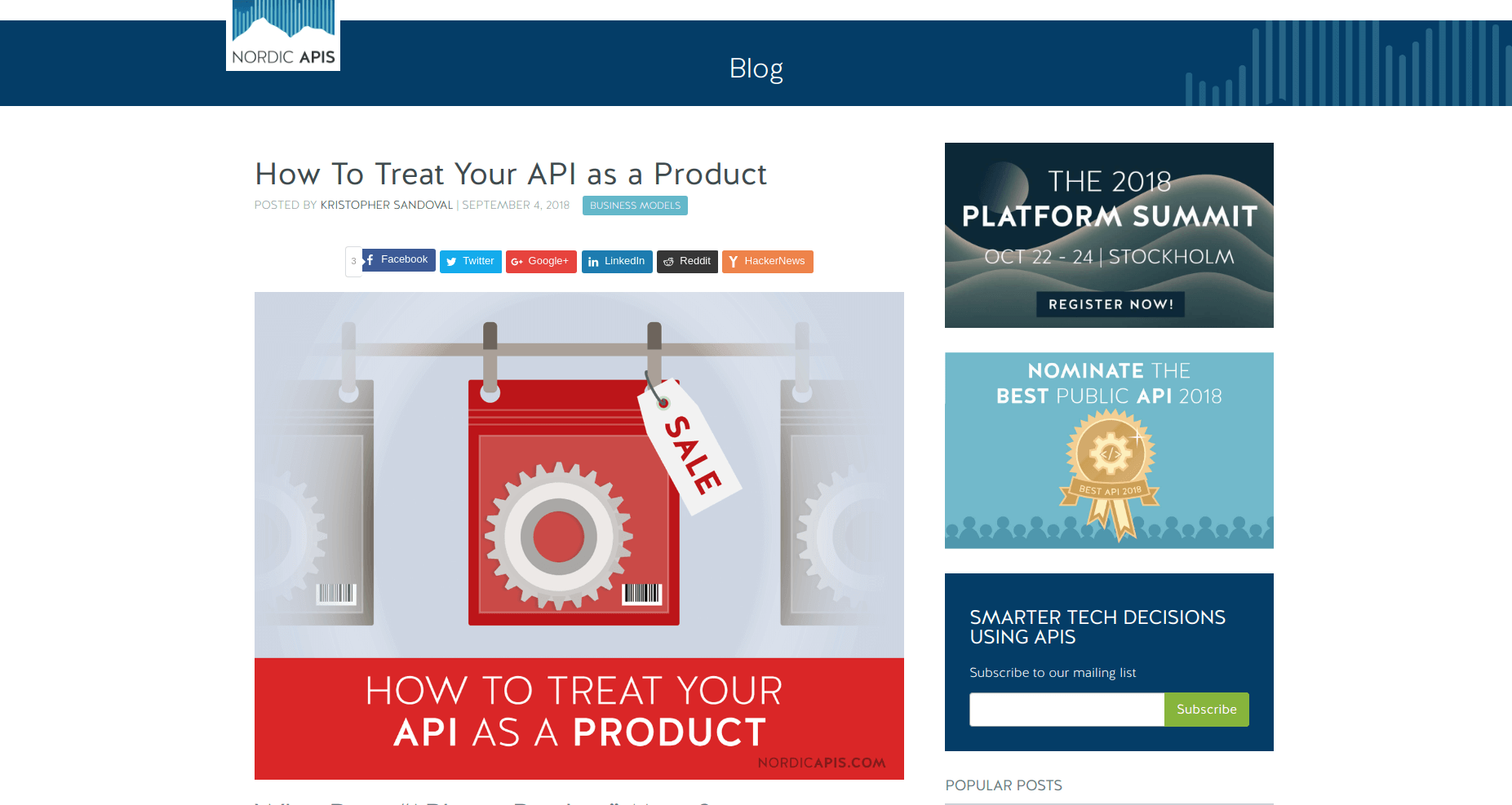 API Digest #101: How To Treat Your API as a Product - API2Cart
