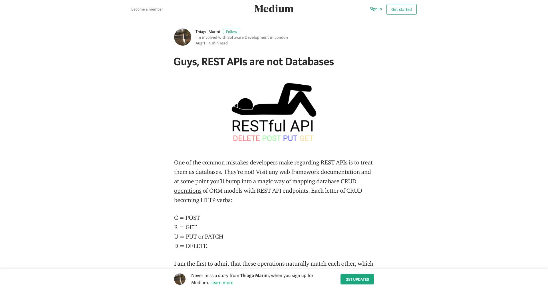API Digest #102: Guys, REST APIs are not Databases - API2Cart