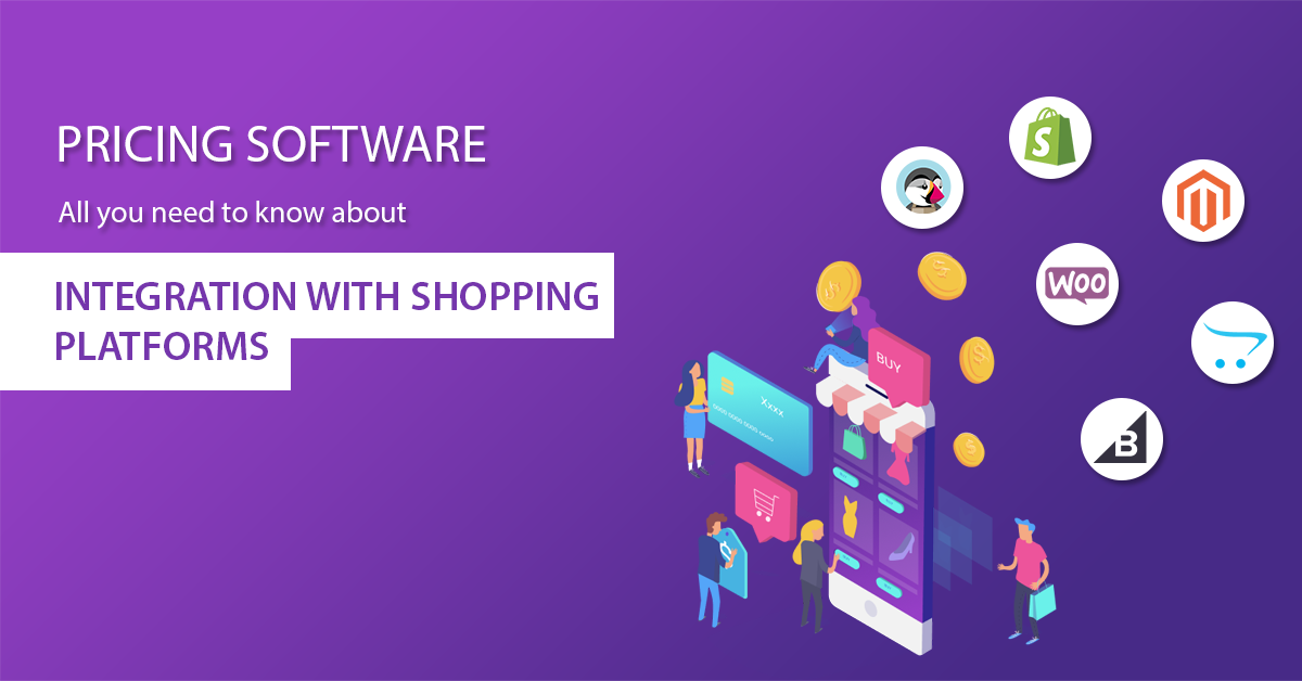 pricing software integration with shopping carts